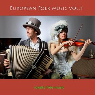 1-PACK: European Folk Music (CD) - CC