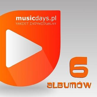 6 albumów (MP3 do pobrania)