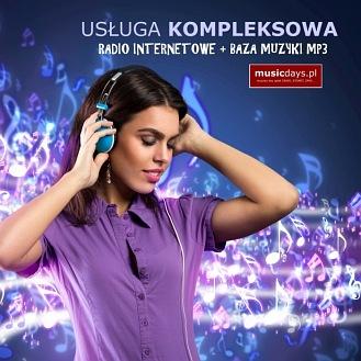 RADIO + BAZA MP3 na 12 MIESIĘCY (rabat 43%)