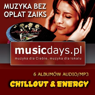 6 albumów - CHILLOUT & ENERGY