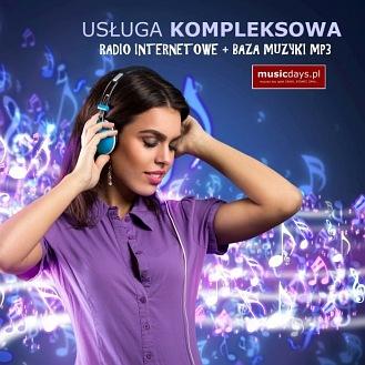 RADIO + BAZA MP3 na 36 MIESIĘCY (rabat 57%)