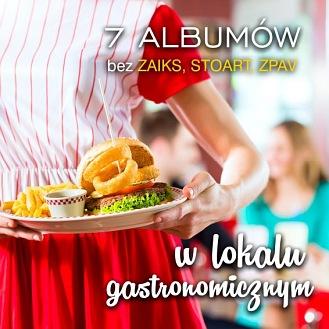 7 albumów - LOKAL GASTRONOMICZNY